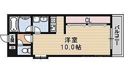ヴァンヴェール35[208号室]の間取り