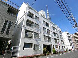 東京都墨田区東駒形4丁目の賃貸マンションの外観
