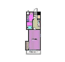 ベルツリー浦和[3階]の間取り
