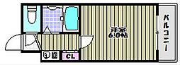 トゥリオーニ堺II[5階]の間取り