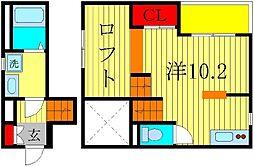RadIAnce新松戸[2階]の間取り