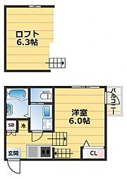 (仮称)ハーモニーテラス東大阪市西堤楠町A棟[1階]の間取り