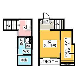 高畑駅 5.2万円