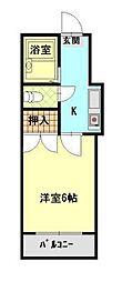SATOビル三吉[2階]の間取り