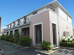 滋賀県大津市和邇中の賃貸アパートの外観