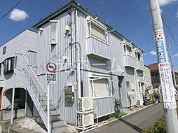 東京都清瀬市松山1丁目の賃貸アパートの外観