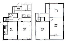 大久保貸家[2階]の間取り