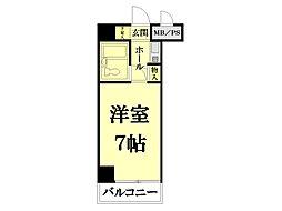 ライオンズマンション鶴見第3[3階部分号室]の間取り