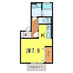 仮)D-room今池町[0201号室]の間取り