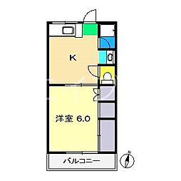 サンハイツ(介良)[3階]の間取り