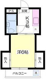 メゾンプリエ・[2階]の間取り