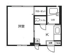 エクセルチヨ[102号室]の間取り