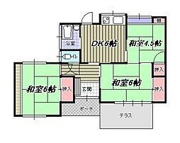 [一戸建] 福岡県福岡市東区香住ケ丘2丁目 の賃貸【/】の間取り