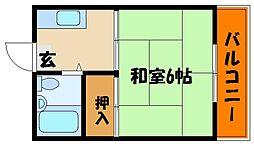 大蔵ハイユニ[1階]の間取り