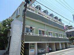 神奈川県横浜市港北区日吉本町4丁目の賃貸アパートの外観