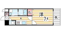 S−FORT住道[9階]の間取り