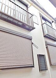 東京都品川区大井2丁目の賃貸アパートの外観