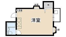 COZYPALACEキムラ[201号室]の間取り
