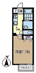 ボナールハウス[202号室]の間取り