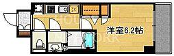 プレサンス京都四条烏丸響[906号室号室]の間取り