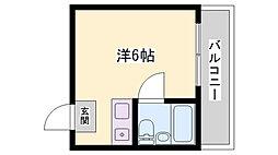 サンハイツYOU[3階]の間取り