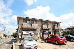 愛知県名古屋市中川区吉津1の賃貸アパートの外観