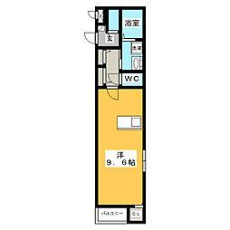 プレミアムコート[2階]の間取り