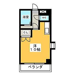 ドムス本山[1階]の間取り