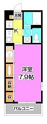 埼玉県富士見市東みずほ台3丁目の賃貸アパートの間取り
