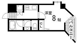 兵庫県神戸市垂水区旭が丘3丁目の賃貸マンションの間取り