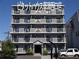 滋賀県草津市西渋川1丁目の賃貸マンションの外観