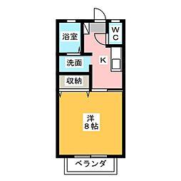 ダイワロイヤルガーデンI・II[1階]の間取り