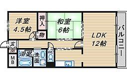 ロイヤルグレース上野東[102号室]の間取り