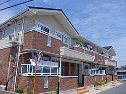 大阪府河内長野市楠町東の賃貸アパートの外観