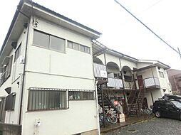 東京都府中市白糸台3丁目の賃貸アパートの外観