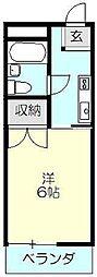 第2村山ビル[3階]の間取り