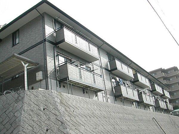 サニーハイツ学園中[1階]の外観