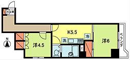 GSハイム東高円寺[2階]の間取り