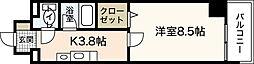 ミーニュ・カーザ[4階]の間取り