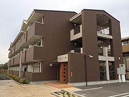 京都府京田辺市草内大切の賃貸マンションの外観