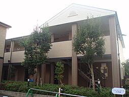 大阪府大阪市東住吉区矢田1丁目の賃貸アパートの外観