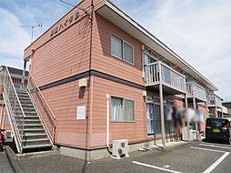 島田ハイツB[201号室]の外観