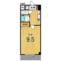 Condominio531[201号室]の間取り