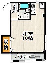 Residence KM2号館[101号室]の間取り