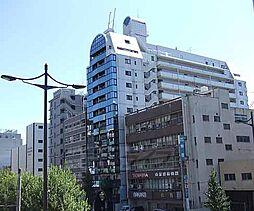 京都府京都市下京区上柳町の賃貸マンションの外観