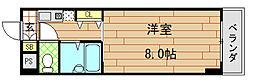 アベニューリップル長田II[208号室]の間取り