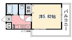 ジョイ甲子園[211号室]の間取り