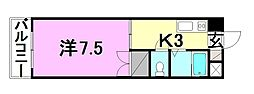 R4マンション[305 号室号室]の間取り