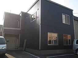 北海道札幌市白石区米里五条1丁目の賃貸アパートの外観