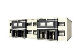 木更津市長須賀593番1新築アパート[107号室]の外観